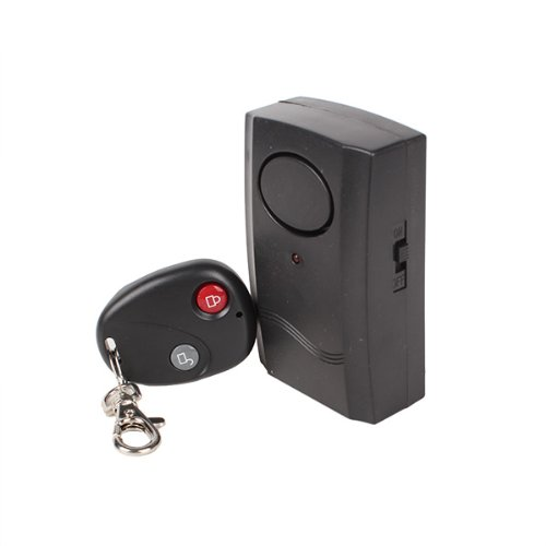 Generic Wireless Keyring Remote Control Micro-Vibration Triggered Alarm front-541700
