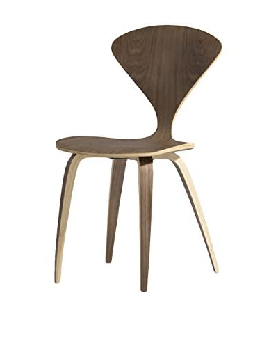 Aeon Euro Home Collection Eddie Dining Chair, Walnut