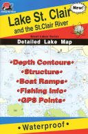 Lake St. Clair Fishing Map (Great Lake Fishing Series, L130)