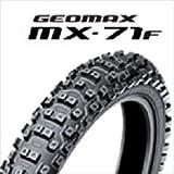 DUNLOP(ダンロップ)バイクタイヤ GEOMAX MX71 フロント 70/100-17 40M チューブタイプ(WT) [公道走行不可] 289559 二輪 オートバイ用