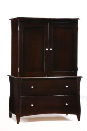 Black Bureau Dresser front-590052