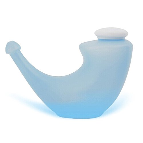 YOGA Neti Pot Naso pulizia Cleaner irrigazione nasale Wash System (blu)