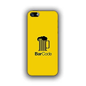 Caseque (Pro) Bar Code Back Cover For Apple iPhone 5S