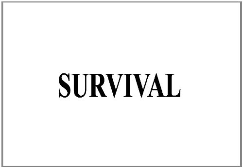 SURVIVAL MANUAL, SURVIVAL GUIDE, SURVIVAL HANDBOOK, SERE, combined with SNIPER MANUAL