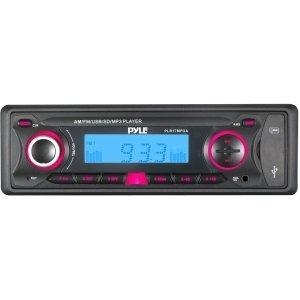 Pyle PLR17MPUA Car Flash Audio Player - 200 W RMS - iPod/iPhone Compatible [PLR17MPUA] -