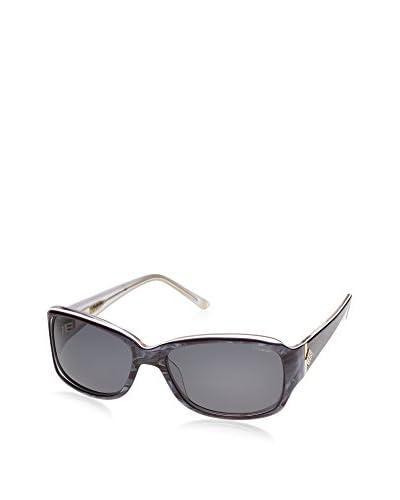 Polaroid Gafas de Sol P9363 (58 mm) Gris / Negro