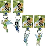 Disney Fairies Tinkerbell Keychain- Lucite Shaped Key Chain