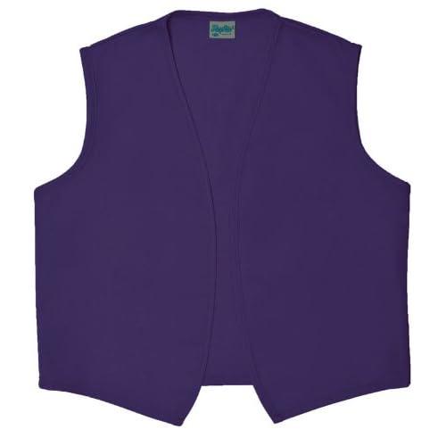 Need Aprons A740NP Unisex Vest Aprons, Medium, Purple