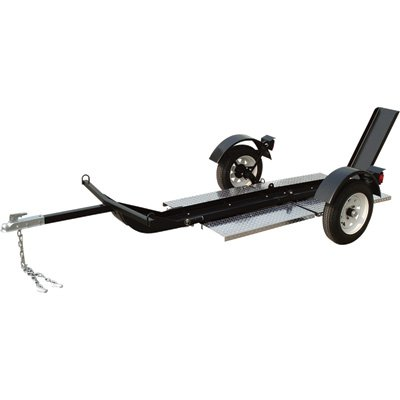 - Ultra-Tow Single-Rail Folding Motorcycle Trailer, Model# 3806S084 (Motorcycle Trailer compare prices)
