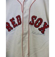 Signed Williams, Ted (Boston Red Sox) Mitchell & Ness Cooperstown Collection... by Powers Collectibles
