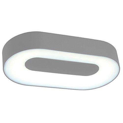 Eco-Light-Moderne-Auenleuchte-fr-Wnde-oder-Decken-Ublo-IP54-oval-213-x-113-cm-silber-3491-S-SI