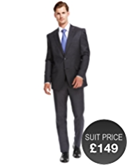 Ultimate Performance Slim Fit 2 Button Jacket with Wool