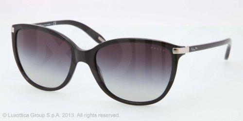 Ralph by Ralph Lauren 0RA5160 501/11 Cat Eye Sunglasses,Black,57 mm