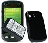 Cameron Sino Extended High Capacity Battery 3000mAh for HTC P3600, Orange M700, Vodafone VPA Compact GPS + Black Cover
