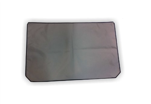 "Gray Nylon Dust Cover Designed For Articulating And Large Microscopes. 35""W X 22""H"