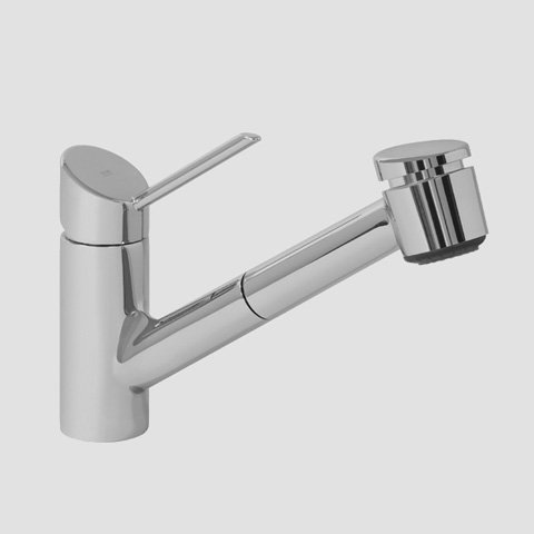 KWC 10.021.033.127LL Edge Long Lever Kitchen Faucet