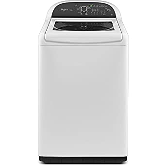 Whirlpool WTW8500BW 4.8 Cu. Ft. White With Steam Cycle Top Load Washer - Energy Star