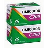 Pellicule photo argentique couleur Fujicolor - FUJI C200 - Film 24x36 - 200 Iso - 36 poses (Bipack)