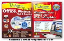 Professor Teaches Ultimate Set: Microsoft Office & Windows