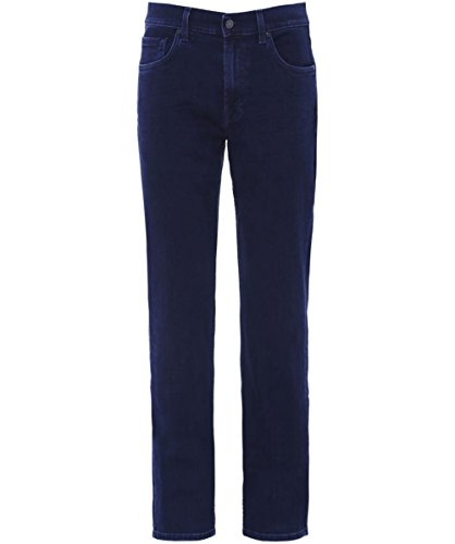 7 For All Mankind Slimmy Luxe prestazioni Jeans UK 38R Blu