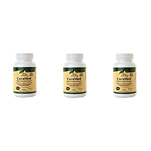 Terry Naturally EuroPharma CuraMed 375mg BCM-95 Curcumin, 60 Softgels - 3 Pack