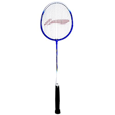 Li-Ning 807 XP Carbon Fiber Badminton Racquet, Size S2 (Red/Yellow)