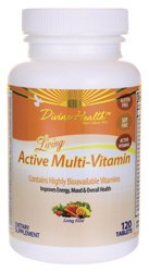 Living Active Multi-Vitamin 120 Tabs
