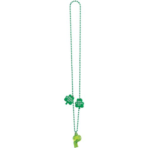 St. Patrick's Day Whistle Necklace - 1