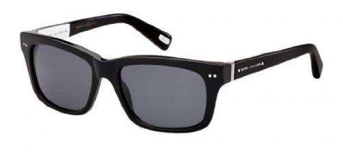 Marc Jacobs Mj317/S Sunglasses-0807 Black (Bn Dark Gray Lens)-53Mm