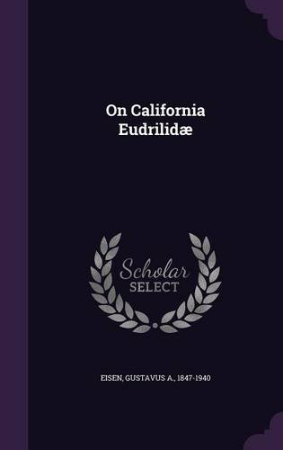 On California Eudrilidæ