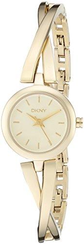 buy Dkny Women'S Ny2170 Crosswalk Gold Watch