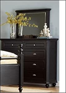 Dresser and Mirror of Hanna Collection by Homelegance