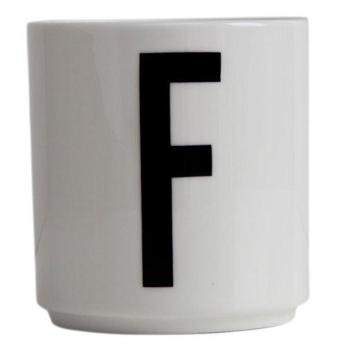 """Design Letters Becher mit Buchstabe """"F"""""""