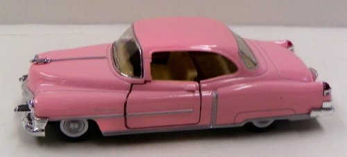 Kinsmart 1/38 Scale Diecast 1953 Cadillac Series 62 Coupe in Color Pink