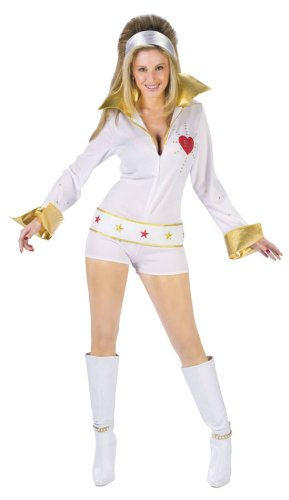 Elvis Female Hot Pants Md/Lg Adult Womens Costume