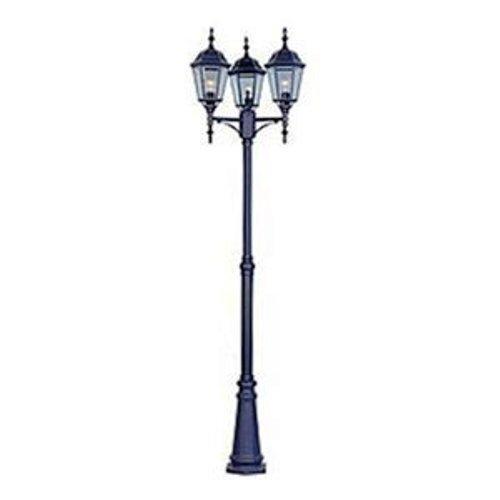 Best Maxim Lighting 1105bk 3 Light Outdoor Pole Post