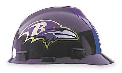 Mine Safety Appliances Company 818386 NFL hard hat - baltimore ravens by Mine Safety Appliances