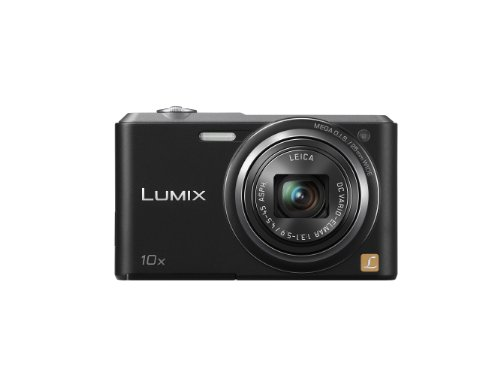 Panasonic Lumix DMC-SZ3EB-K Compact Camera - Black (16.1MP, 10x Optical Zoom with Leica DC Lens, 25mm Wide Angle Lens, HD Video Recording) 2.7 inch LCD
