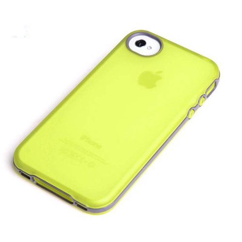 Yellow NEW ROCK Joyful free serious case for Apple Iphone 4 4s