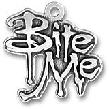 Bite Me Vampire Twilight Charm [Jewelry]