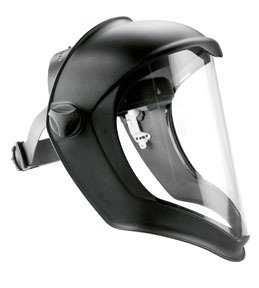 Honeywell S8500 Clear Polycarbonate General Purpose Face Shield & Headgear Set - Uncoated - S8500 [PRICE is per EACH] 3m laminate floor grounding kit 3047 [price is per each]