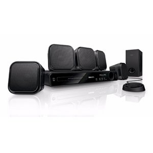 Philips HTS3371D/F7 DVD Home Theater with 1080P HDmi Upconversion