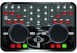 Pyle-Pro Professional Digital MIDI Controller with VIRTUAL DJ Software Included PMIDI100