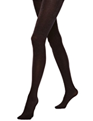 Metallic Effect Opaque Tights