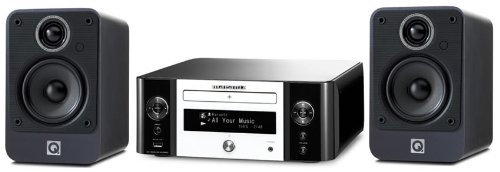 Review and Buying Guide of Cheap Marantz MCR610 White with Q Acoustics 2010i Graphite (R)