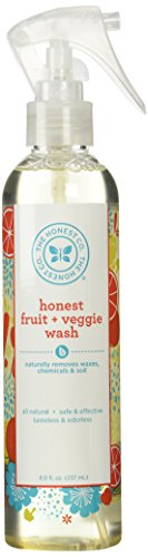 The Honest Company Fruit & Veggie Wash - Safely & Effectively Clean Your Fruits & Vegetables 8.0 fl. oz (237 ml)