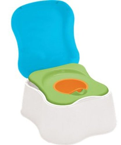 Safety 1st 1-2-3 Teach Me Potty Trainer and Step Stool