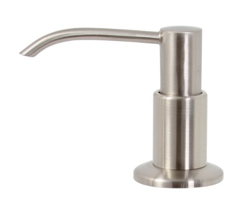 Premier 552029 13-Ounce Soap Dispenser, Brushed Nickel