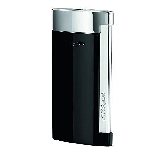 st-dupont-slim-7-black-flat-flame-lighter