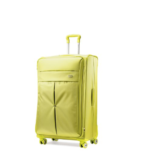 American Tourister Luggage Colora 20-Inch Spinner Bag, Lime Green, 20-Inch